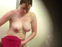 changing Room Big boobed Milf