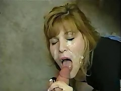 Mature amateur facial