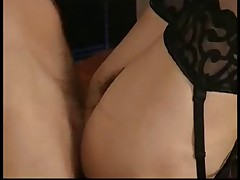 Two Hairy French Matures Fucked LST