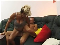 Horny Milf Craves Young Cock !
