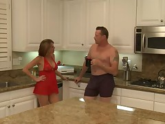 Sexy Mature Mom Banged in the Kitchen!!!! (Hot)