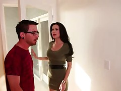 Horny Mom Blows Daughter's Ex-Boyfriend!!!