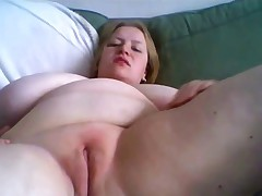 BBW Huge Natural Tits Masturbating