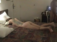 Wife fucked by husband and friend  (cuckold)