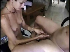 Short Haired Wife Sucks Fucks And Takes A Facial !