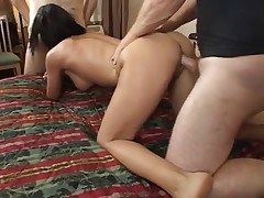 hottie takes multiple creampies