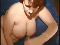 Big boobed milf on real homemade