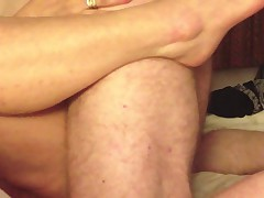 Creampie my friends 55 year old wife in a hotel.