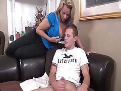 Mom Makes You Suck & Jerk